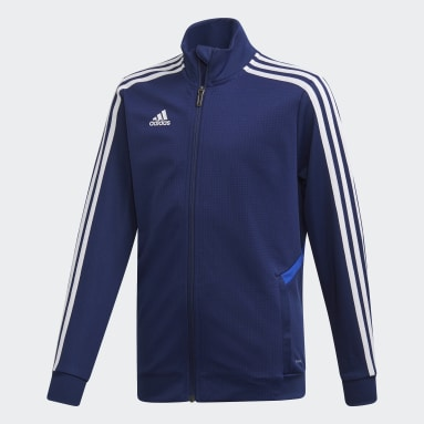 Kids Gym & Training Blue Tiro 19 Training Jacket