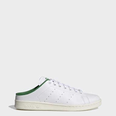 Men Originals White Stan Smith Mules