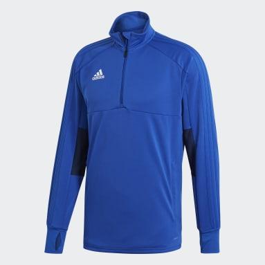 Men Football Blue Condivo 18 Multisport Training Top