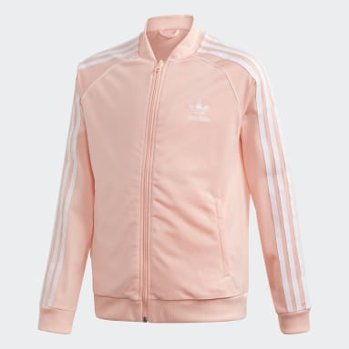 Girls Originals Pink SST Track Top
