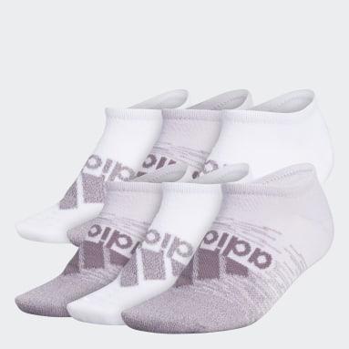 Women's Training Multicolor Superlite Badge of Sport No-Show Socks 6 Pairs