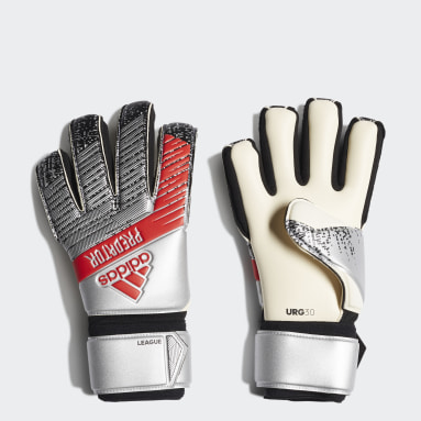 Soccer Silver Predator League Gloves