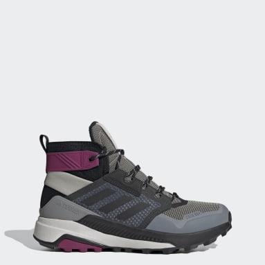 Women TERREX Grey Terrex Trailmaker Mid COLD.RDY Hiking Shoes