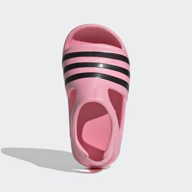 Infants Originals Pink Adilette Play Slides