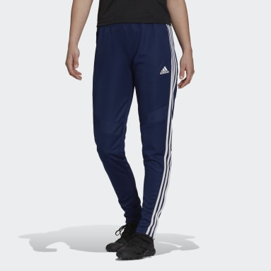 Women Football Blue Tiro 19 Training Tracksuit Bottoms