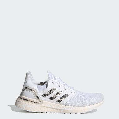 Chaussure Ultraboost 20 Glam Pack blanc Femmes Course