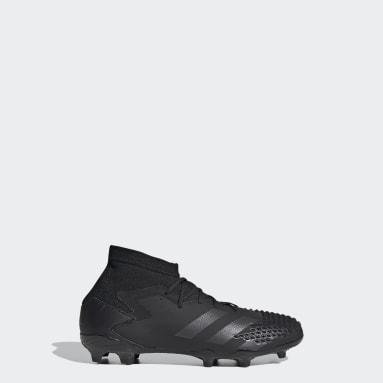 Kids Football Black Predator Mutator 20.1 Firm Ground Boots