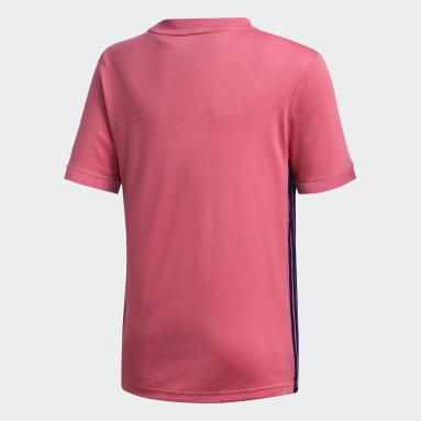 Camiseta Visitante Real Madrid 20/21 Rosado Niño Fútbol