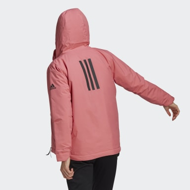 Chaqueta Traveer Insulated Winter Rosa Mujer Outdoor Urbano