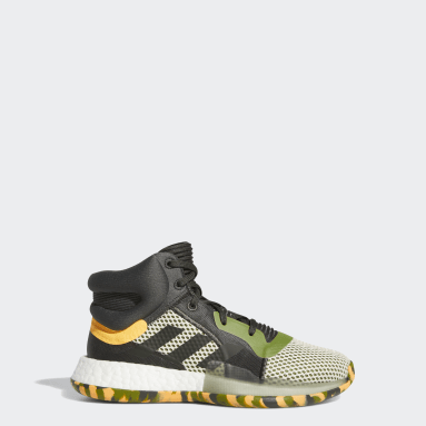 Youth Basketball Green Marquee Boost Shoes
