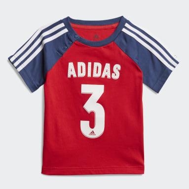 Børn Fitness Og Træning Rød Sport sommersæt