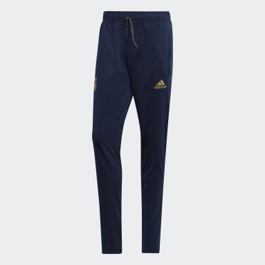 Pantalon Real Madrid Icon Bleu Hommes Football