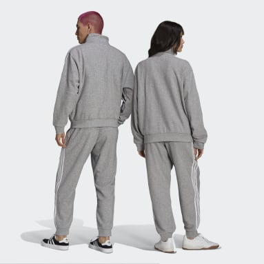 Originals Grey Bouclé SST Track Pants (Gender Neutral)