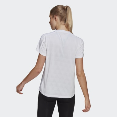 Women Running White HEAT.RDY Running T-Shirt