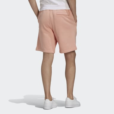 Men's Originals Pink R.Y.V. Abstract Trefoil Shorts