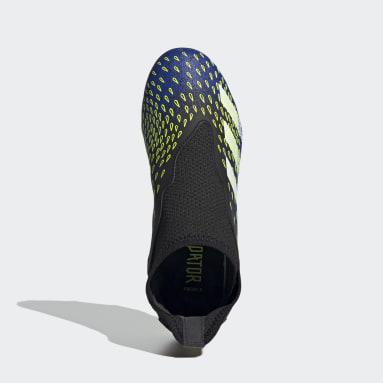 Boys Fodbold Sort Predator Freak.3 Laceless Firm Ground støvler