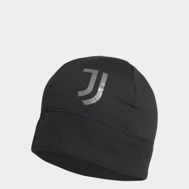 Fußball Juventus Turin AEROREADY Mütze Schwarz