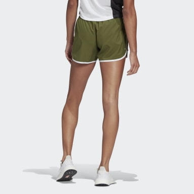 Women's Running Green Marathon 20 Shorts