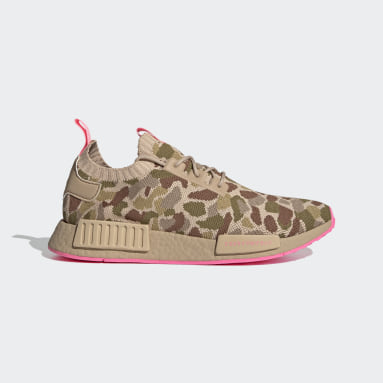 Originals Beige NMD_R1 Primeknit Shoes