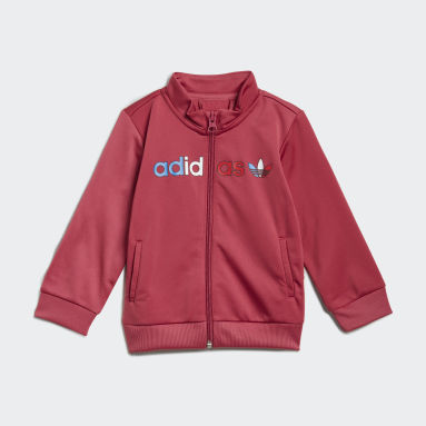 Kids Originals Pink Adicolor Primeblue Track Suit