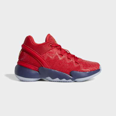 Chaussure D.O.N. Issue #2 Rouge Enfants Basketball