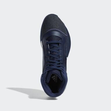 Zapatilla Marquee Boost Azul Baloncesto