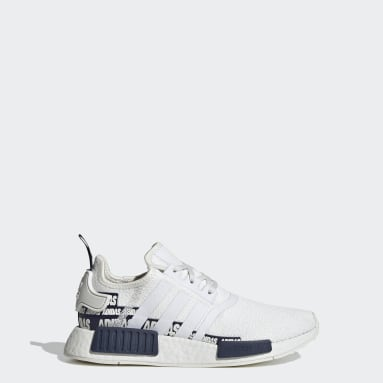 Youth 8-16 Years Originals White NMD_R1 Shoes