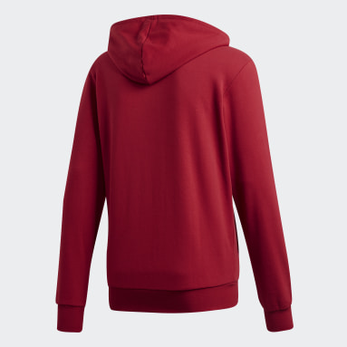 Veste à capuche Essentials Plain Bordeaux Hommes Fitness Et Training