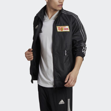 Men Football Black 1. FC Union Berlin Anthem Jacket