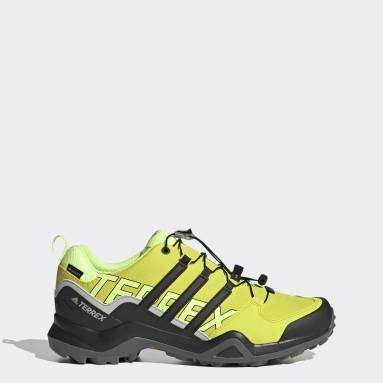 Men TERREX Yellow Terrex Swift R2 GORE-TEX Hiking Shoes
