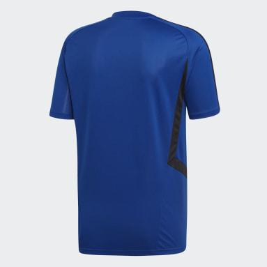 Camiseta de Entrenamiento Manchester United Azul Hombre Fútbol