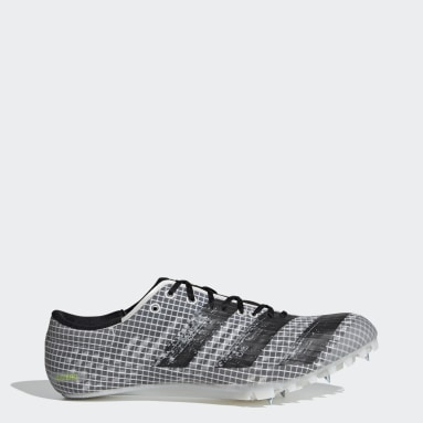 Men Track & Field White Adizero Finesse Spikes