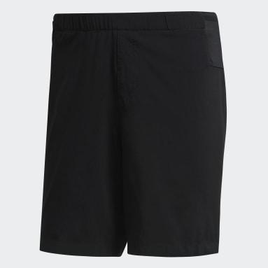 Men TERREX Black Parley Agravic Trail Shorts