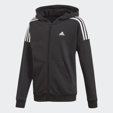 Boys Gym & Training Black Track Suit