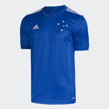 Camisa Cruzeiro 1 Azul Homem Futebol
