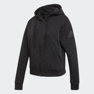 Dam Sportswear Svart ID Mélange Hoodie