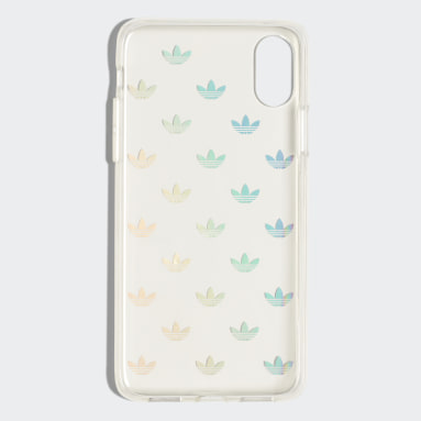 Funda iPhone X Clear Plateado Originals