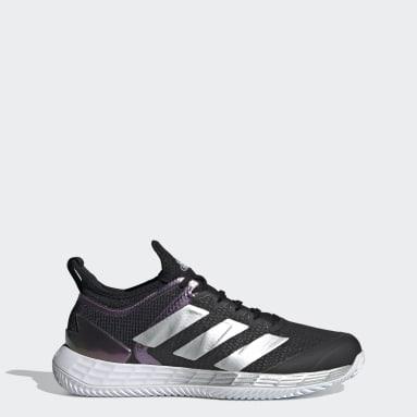 Sapatos Adizero Ubersonic 4 – Terra batida Preto Mulher Ténis