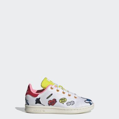 Børn Originals Hvid Stan Smith Primeblue sko