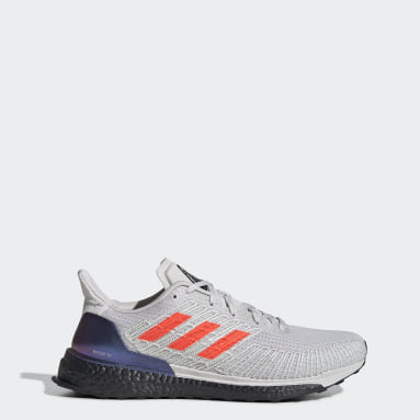 Men Running Grey Solarboost ST 19 Shoes