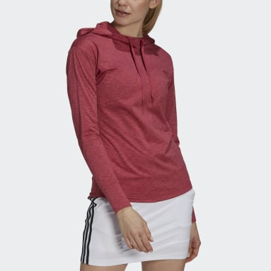 Sweat-shirt à capuche Essentials Primegreen Heathered Rose Femmes Golf