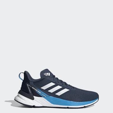 Men Running Blue Response Super Shoes