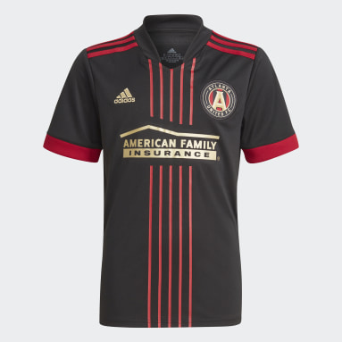 Youth Soccer Black Atlanta United FC 21/22 Home Jersey