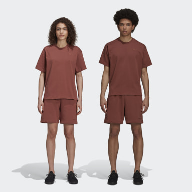 Short Pharrell Williams Basics (Non genré) Marron Originals