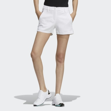 Women Golf White Shorts