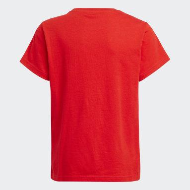 Trefoil T-skjorte Rød