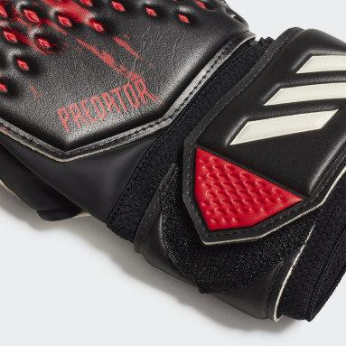 Fußball Predator 20 MTC Fingersave Torwarthandschuhe Schwarz
