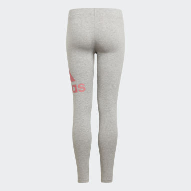 Mädchen Sportswear adidas Essentials Tight Grau