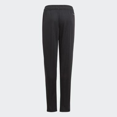 Youth Soccer Black Tiro Track Pants