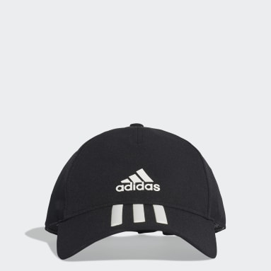 Gym & Training Black C40 3-Stripes Climalite Cap